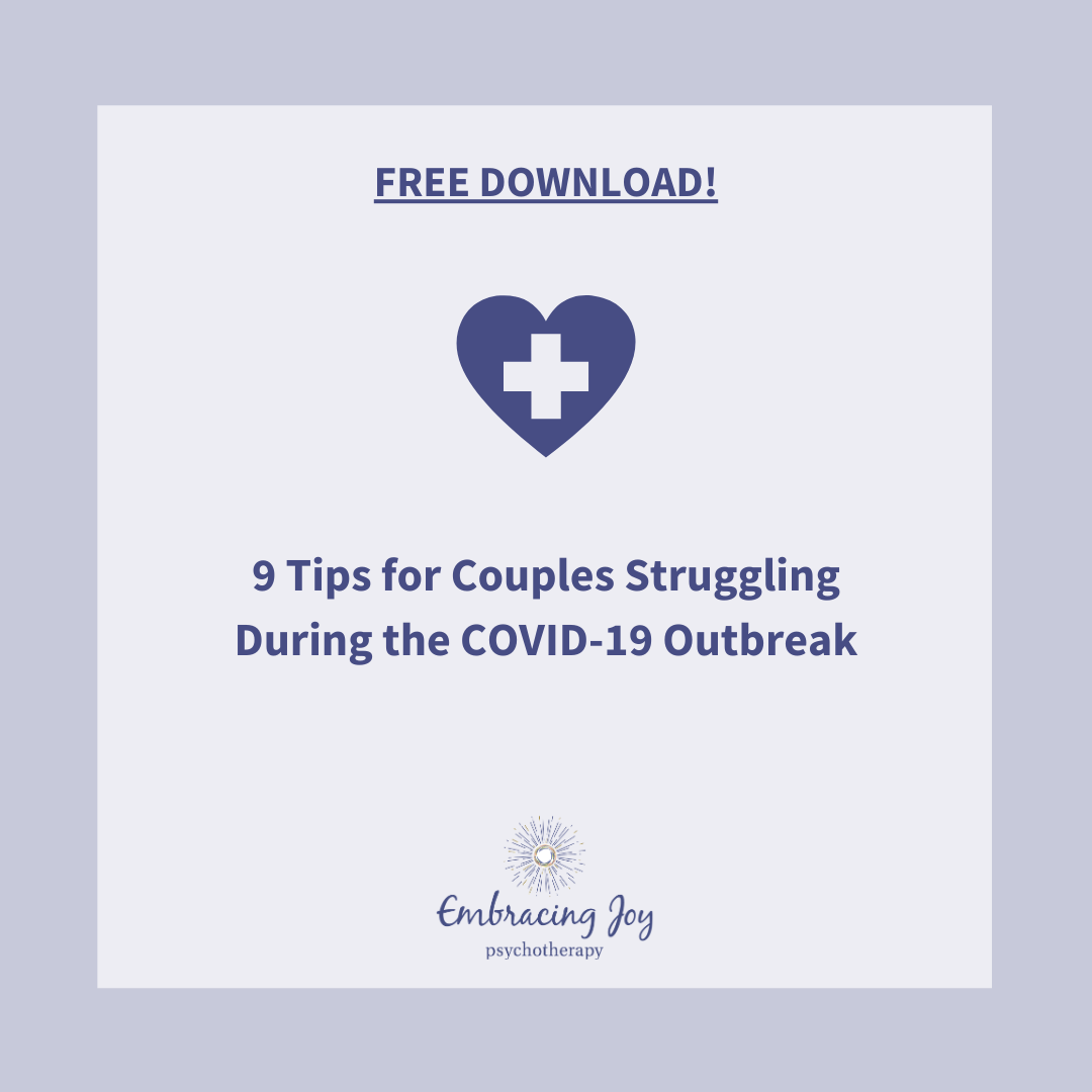 9 tips for couples struggling during the COVID-19 outbreak